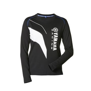 Picture of YAMAHA LADIES PADDOCK LONG SLEEVE T-SHIRT