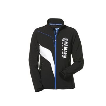 Picture of YAMAHA LADIES PADDOCK BLUE SOFTSHELL JACKET
