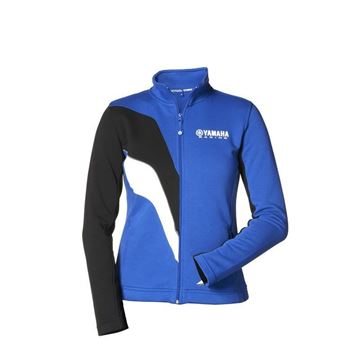 Picture of YAMAHA LADIES PADDOCK ZIP SWEAT