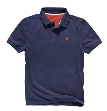 Picture of TRIUMPH NAVY POLO SHIRT