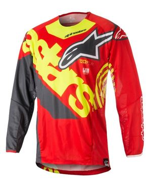 Picture of ALPINESTARS TECHSTAR VENOM JERSEY