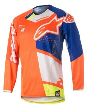 Picture of ALPINESTARS TECHSTAR FACTORY JERSEY 2018