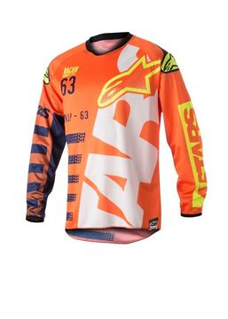 Picture of ALPINSTARS YOUTH RACER BRAAP JERSEY