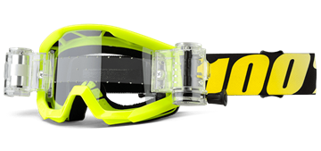 Picture of STRATA SVS NEON YELLOW CLEAR LENS