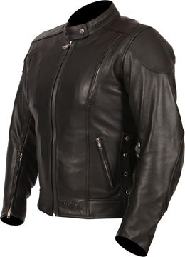 Picture of WEISE WOMEN'S SOPHIA LEATHER JACKET RRP £220.00 NOW £159.98