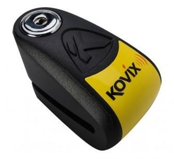 Picture of KOVIX 6mm ALARM DISC LOCK - BLACK