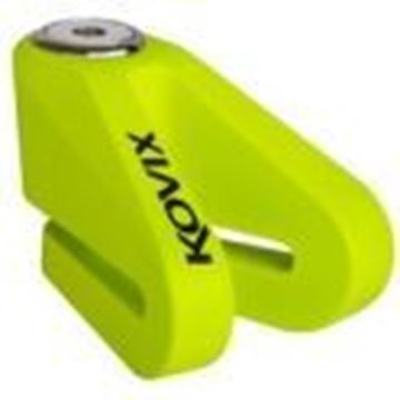 Picture of KOVIX 10mm DISC LOCK - FLUO GREEN