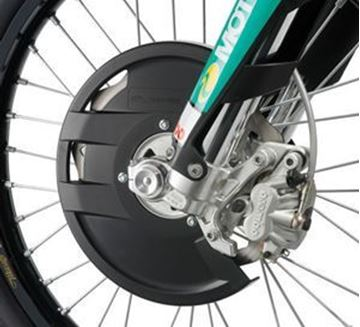 Picture of FRONT BRAKE DISC GUARD up to 260mm discs