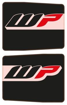 Picture of PROTECTION STICKER FRONT FORK-SET WP BLACK 48mm USD