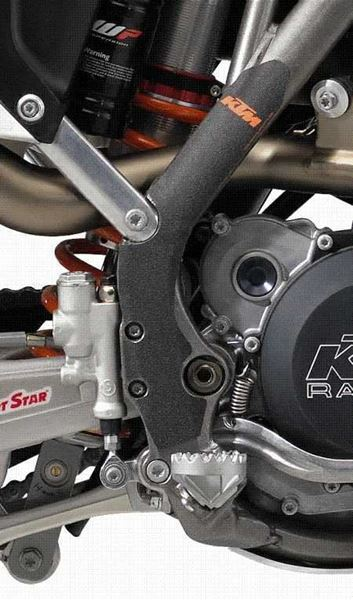 Picture of FRAME PROTECTION STICKERS SX/EXC 125-530 (11-13)