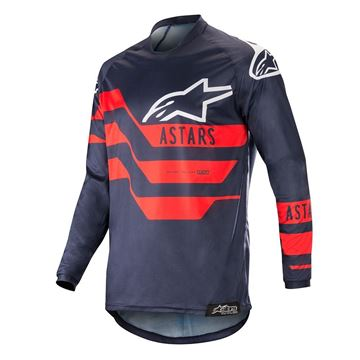 Picture of ALPINESTARS MX19 RACER FLAGSHIP JERSEY
