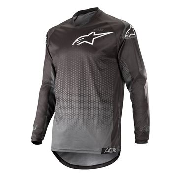 Picture of ALPINESTARS MX19 RACER GRAPHITE JERSEY
