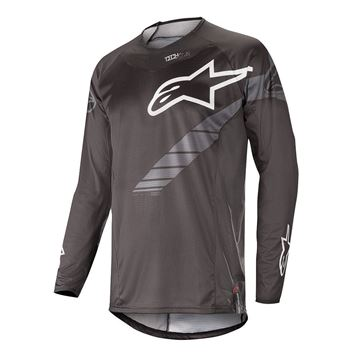 Picture of ALPINESTARS MX19 TECHSTAR GRAPHITE JERSEY