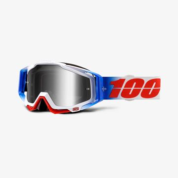Picture of RACECRAFT FOURTH GOGGLES M/SILVER LENS