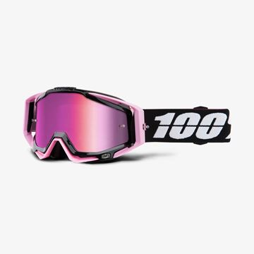 Picture of RACECRAFT GOGGLES FLOYD M/PINK LENS