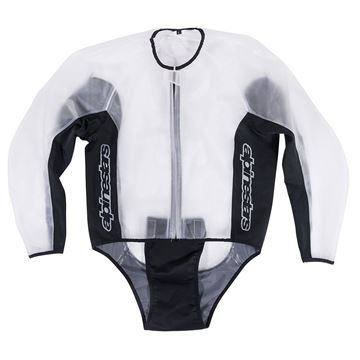 Picture of ALPINESTARS RACING RAIN JACKET CLEAR