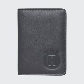 Picture of HUSQVARNA LEATHER WALLET