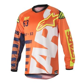 Picture of ALPINESTARS YOUTH RACE BRAAP JERSEY