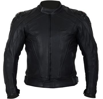Picture of WEISE DIABLO LEATHER JACKET RRP £269.99 NOW £199.99