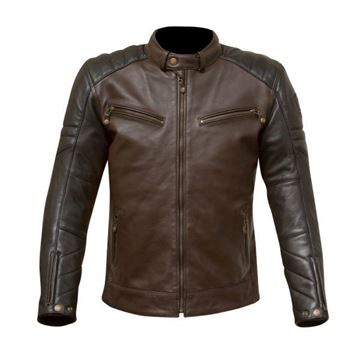 Picture of MERLIN CHASE LEATHER JACKET