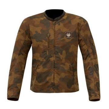 Picture of MERLIN COVERT CAMO WAX JACKET - 2 COLOURS