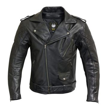 Picture of MERLIN PILSBURY LEATHER JACKET