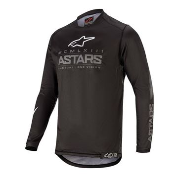 Picture of ALPINESTARS YOUTH RACER GRAPHITE JERSEY