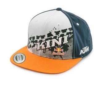 KTM KIDS KINI RED BULL SLANTED CAP - BLUE/WHITE/ORANGE