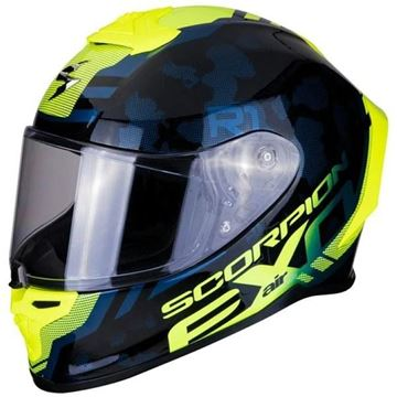 Scorpion Exo R1 Ogi -Blue/Yellow