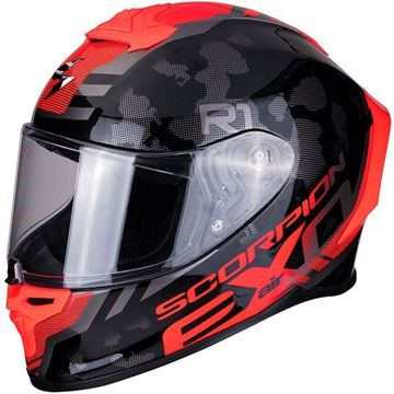 Scorpion Exo R1 Ogi - Black/Red