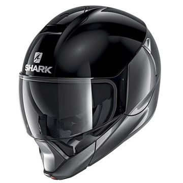 Picture of SHARK EVOJET DUAL BLANK - BLACK & ANTHRACITE