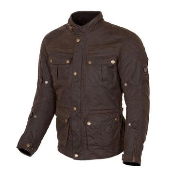 Picture of MERLIN YOXALL 2 WAX TEXTILE JACKET